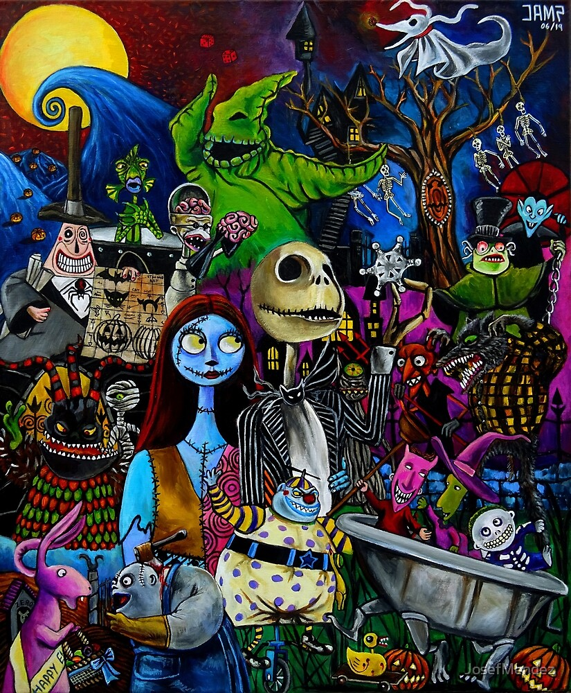«Nightmare before christmas» de JosefMendez