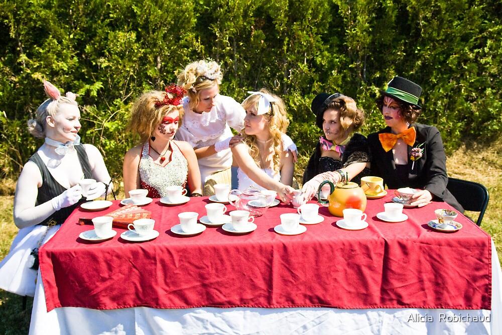 Alice's Last Supper in Wonderland by Alicia  Robichaud