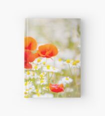 Poppy in the Field of Daisies Hardcover Journal