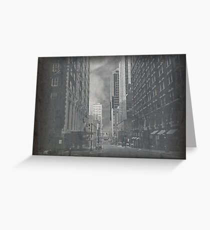 Cityscapes - The way things were.. and are..  Greeting Card