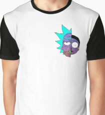 Galactic Rick and Morty Graphic T-Shirt