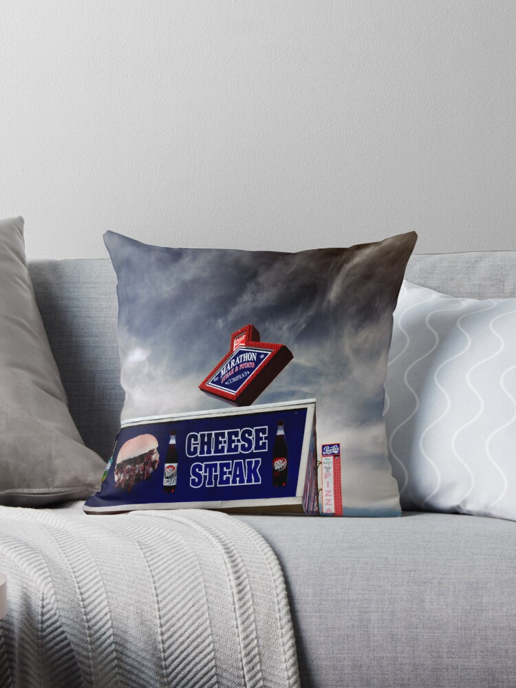 Jersey Shore Americana Throw Pillows By Paul Gitto Redbubble Fascinating Americana Decorative Pillows