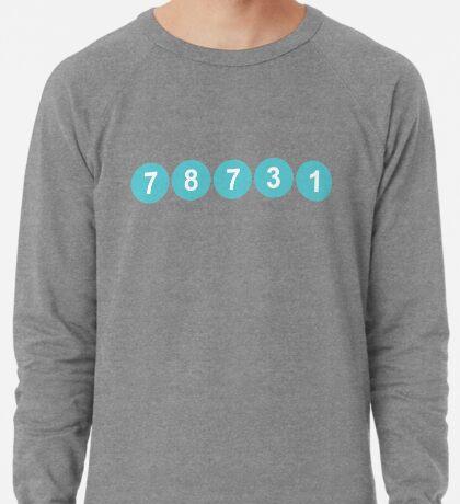 78731 ZIP Code Austin, Texas Lightweight Sweatshirt