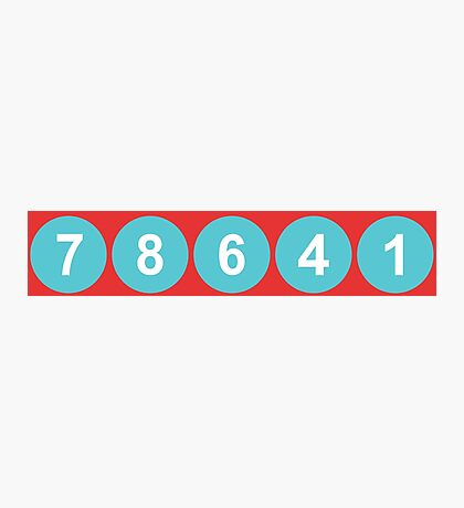 78641 ZIP Code Leander, Texas  Photographic Print