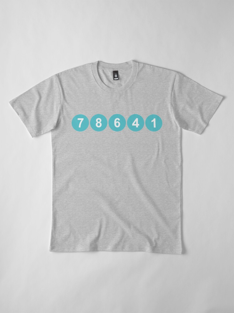 Alternate view of 78641 ZIP Code Leander, Texas  Premium T-Shirt