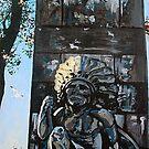 'MONUMENT TO SAMUEL DE CHAMPLAIN, PLATTSBURGH, NY'  by Jerry Kirk