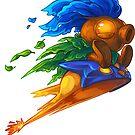 Hyrule's Unlikely Hero (Small) by LauralienArt
