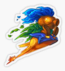 Hyrule's Unlikely Hero (Small) Transparent Sticker