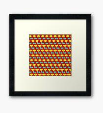 5-uniform_27_dual Framed Print