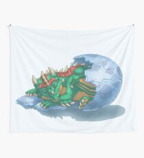 Dragon Hatchling Wall Tapestry