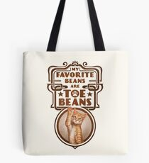 My Favorite Beans Are Toe Beans (Cat) Tote Bag