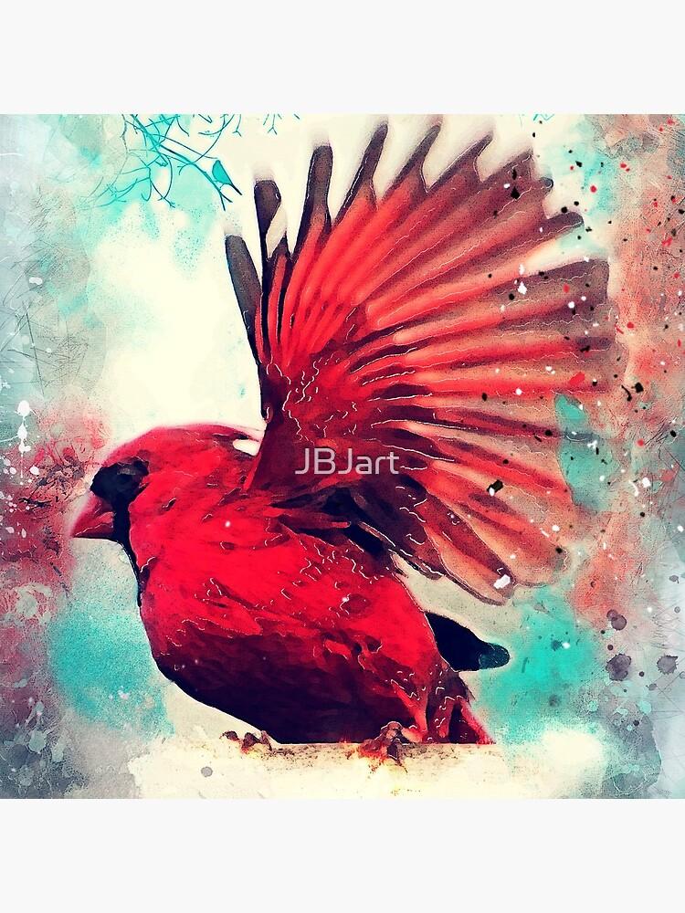Red bird #bird #birds by JBJart