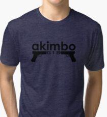Dual G18s Tri-blend T-Shirt