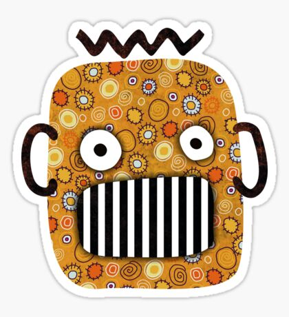 Creepy Pumpkin Sticker