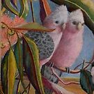 Amongst the Gum Nuts  Sold by sandysartstudio