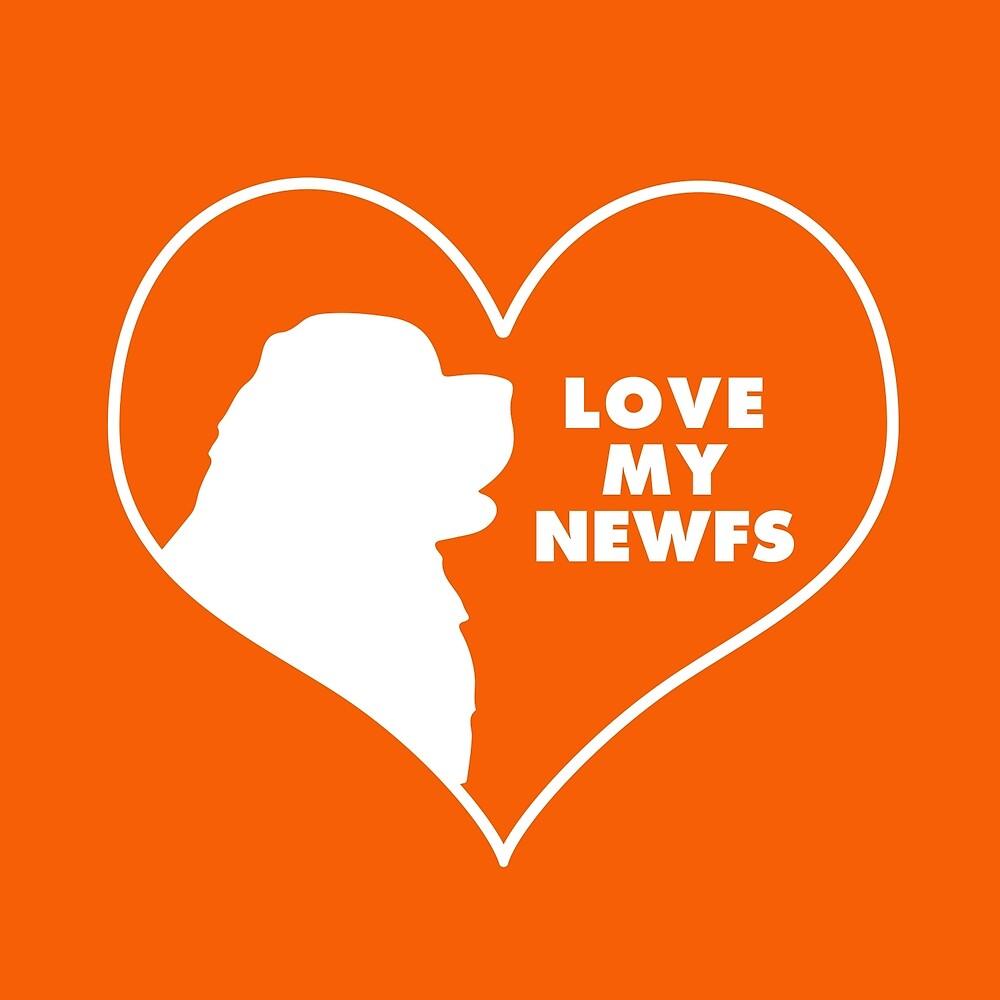 Love My Newfs by Christine Mullis