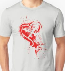 Heartless Splatter Unisex T-Shirt