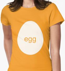 egg Women's Fitted T-Shirt