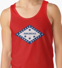 Arkansas Flag Tank Top