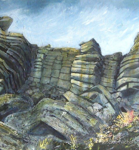 Stanage Edge, Derbyshire by Sue Nichol