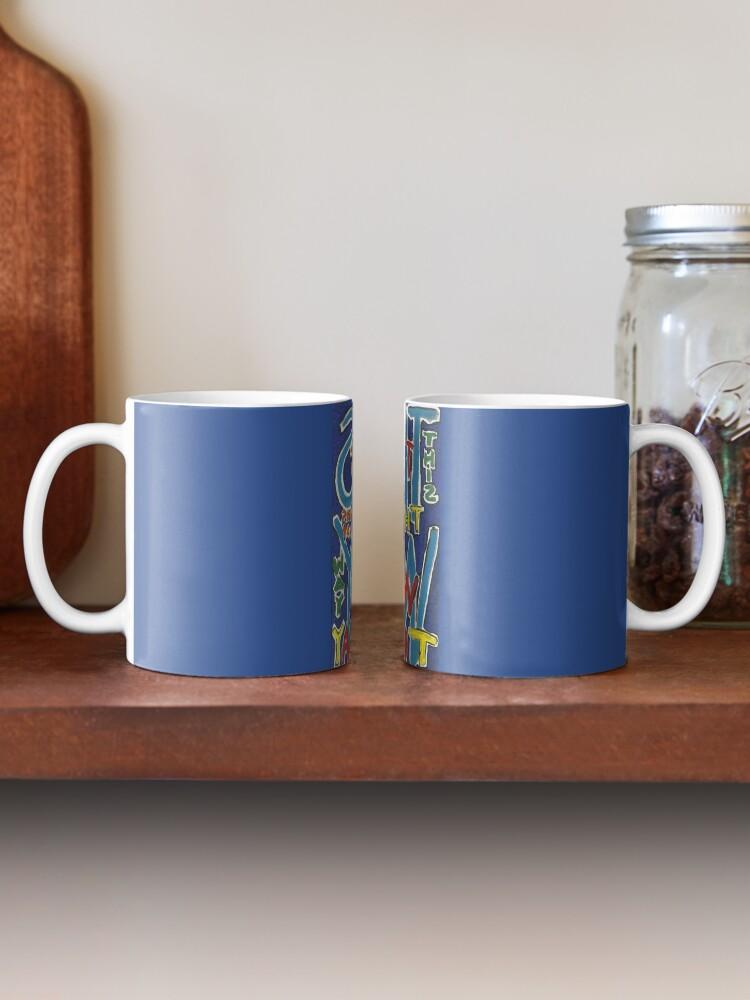 Alternate view of This Way - Brianna Keeper Painting Mug