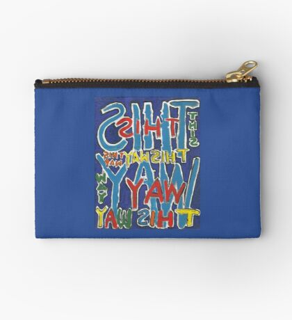 This Way - Brianna Keeper Painting Zipper Pouch