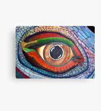 Lizard's Eye Canvas Print