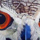 Eagle Owl by Pauline Jones