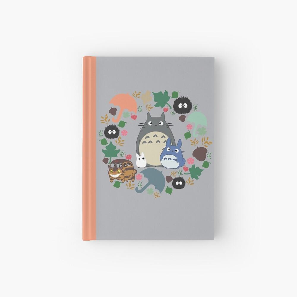 Mein Nachbar Totoro Kranz - Anime, Catbus, Ruß Sprite, Blau Totoro, Weiß Totoro, Senf, Ocker, Regenschirm, Manga, Hayao Miyazaki, Studio Ghibl Notizbuch