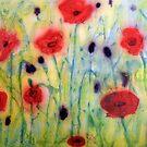 Poppy field by Pauline Jones