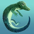 Chinese Alligator by Tami Wicinas