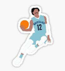 Ja Morant #12 Grizzlies Sticker
