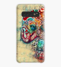 Vintage Elephant TShirt Case/Skin for Samsung Galaxy