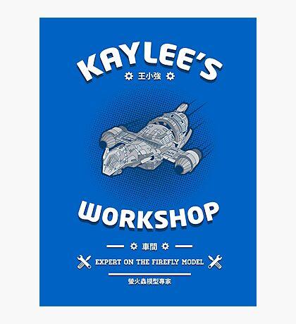 Kaylees Workshop v2 Photographic Print