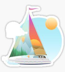 Seaside Vacation Sticker