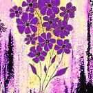 Flowers in Purple by Linda Callaghan