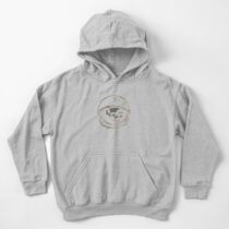 Astronought Kids Pullover Hoodie