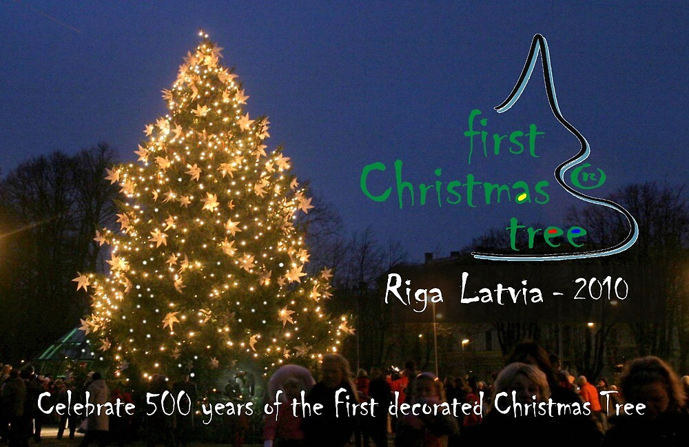 First Christmas Tree Commemorative Card by FirstTree