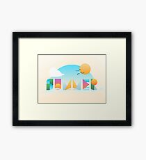 It's Summer Time Framed Print
