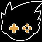 GBAtemp Logo (V3/White Outline) by GBAtemp