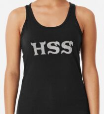 Eta Hiss Hiss (Monsters U) Racerback Tank Top