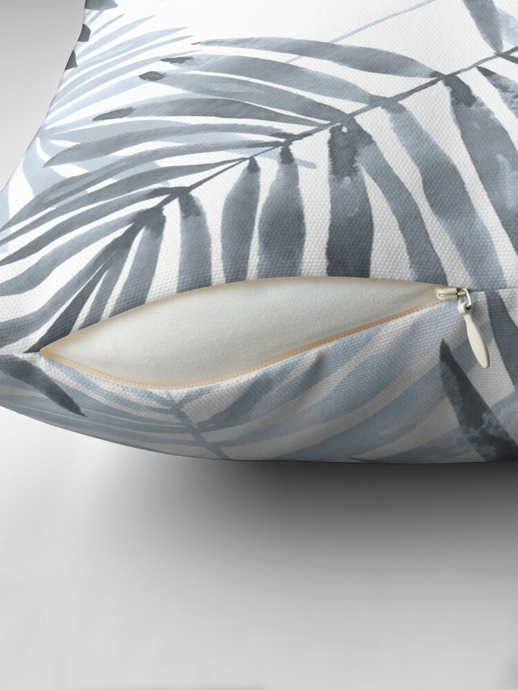Alternate view of Palm leaves and Toucan Floor Pillow