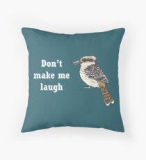 Kookaburra - Animal series Throw Pillow