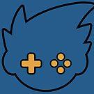 GBAtemp Logo (V3/Black Outline) by GBAtemp
