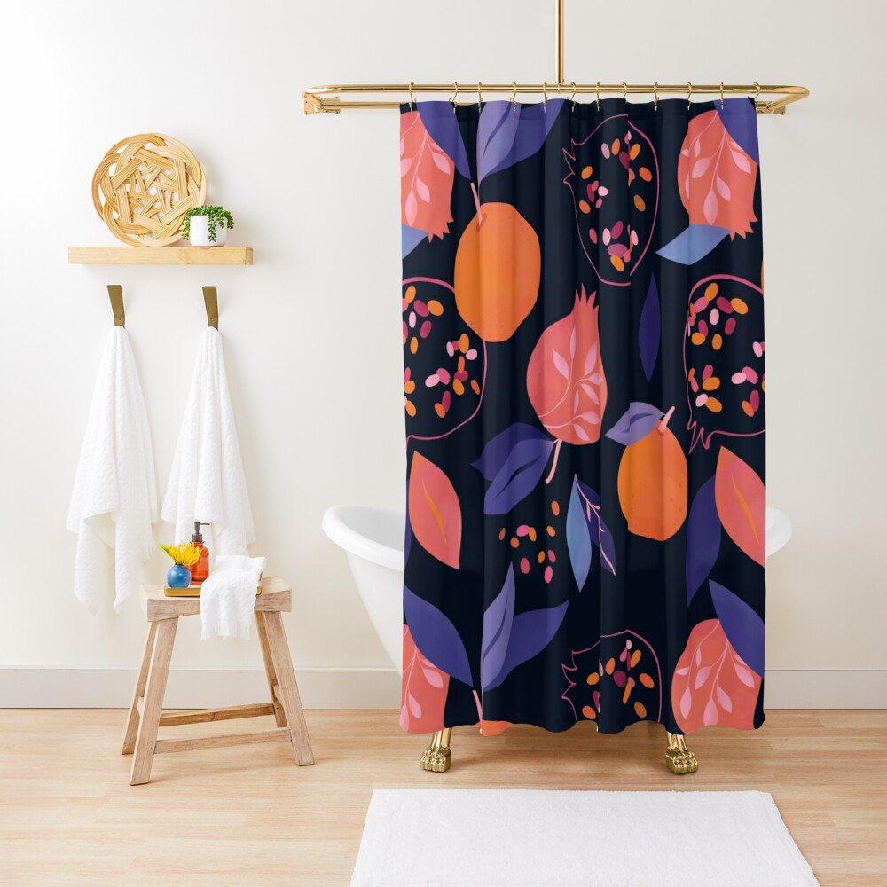 Fruit Gathering  Shower Curtain