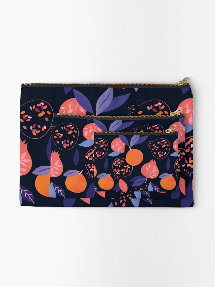 Alternate view of Fruit Gathering  Zipper Pouch