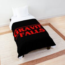 Stranger Gravity Falls Comforter