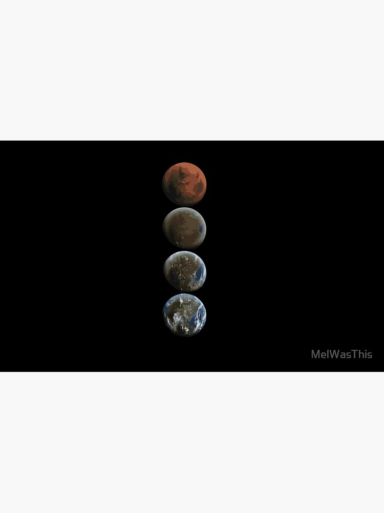 Terraforming Mars SPACEX von MelWasThis