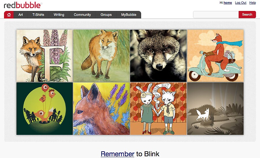 Fabulous Foxes - 3 September 2010 by The RedBubble Homepage