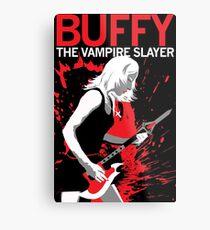Buffy Rocks Metal Print